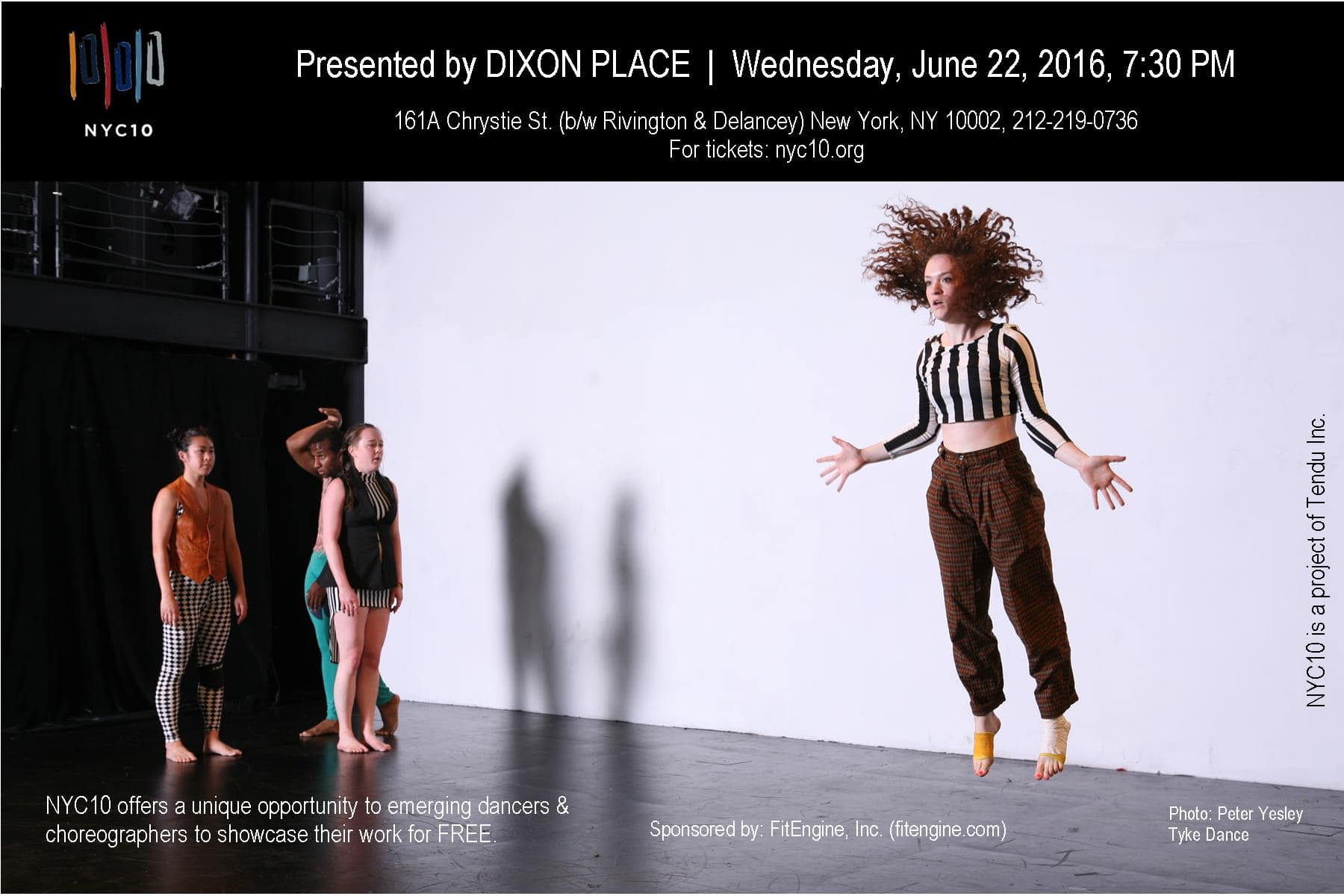 Performance Event with NYC10 Dance Initiative