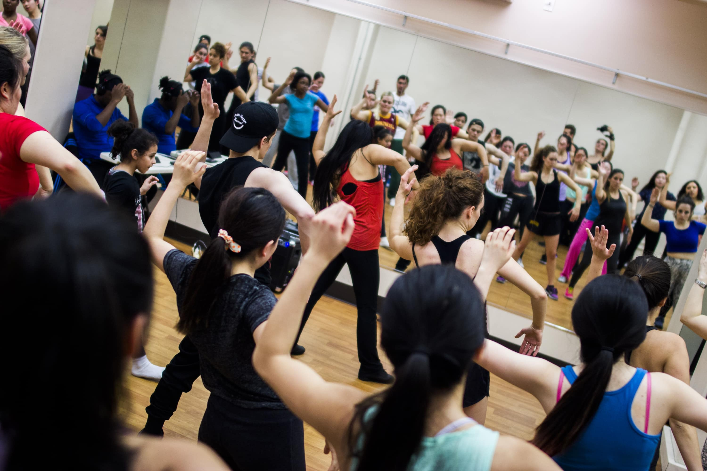 Free Hip-Hop Class with H+